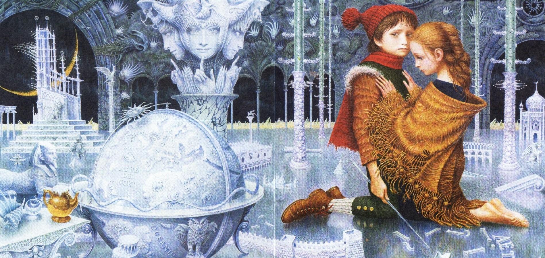 """La Reine des neiges"" - ""Снежная Королева"", аудиосказка на французском языке"